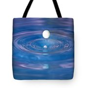 White Into Blue Series 3 Tote Bag