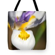 White Iris One Tote Bag
