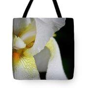 White Iris Study No 3 Tote Bag