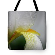 White Iris Study No 6 Tote Bag