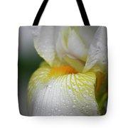 White Iris Study No 7 Tote Bag by Teresa Mucha