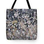 White Irish Flower Tote Bag