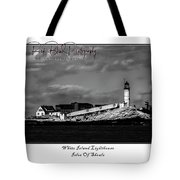 White Island Lighthouse Tote Bag