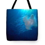 White Jellyfish Tote Bag