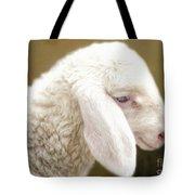 White Lashes Tote Bag