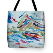 White Light Tote Bag