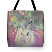 White Lilacs Tote Bag
