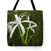 White Lilies In Bloom Tote Bag