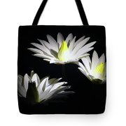 White Lillies Tote Bag
