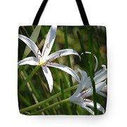 White Lillies Tote Bag