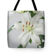 White Lily 2 Tote Bag
