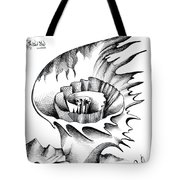 White Lily From The Land Of Absurd Tote Bag