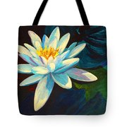 White Lily IIi Tote Bag