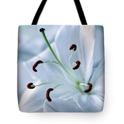 White Lily Triptych Part2 Tote Bag