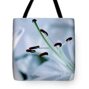 White Lily Triptych Part3 Tote Bag