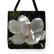 White Magnolia Flower 01 Tote Bag