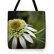 White Milkshake Coneflower Tote Bag