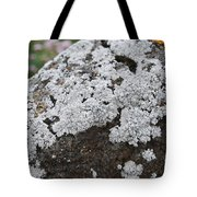 White Moss Tote Bag