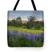 White Mountain Sunset Tote Bag