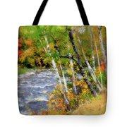 White Mountains Brook Tote Bag