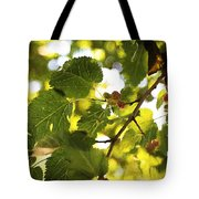 White Mulberries Tote Bag