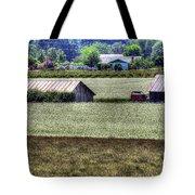 White Mustard Sheds 1584 Tote Bag