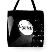White Night Melbourne Tote Bag