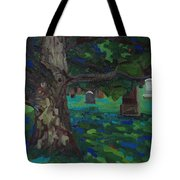 White Oak Shadows Tote Bag