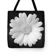 White On Wood Tote Bag