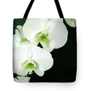 White Orchid Elegance Tote Bag