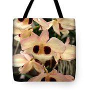 White Orchids With A Hint Of Pink Tote Bag