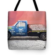 White Owl Truck Tote Bag