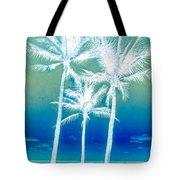 White Palms Tote Bag
