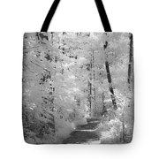 White Path Tote Bag