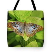 White Peacock Butterfly I Tote Bag