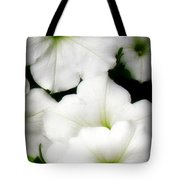 White Petunias 2 Tote Bag