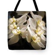 White Phalaenopsis Blossom Tote Bag