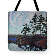 White Pine Island Tote Bag