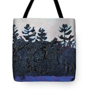 White Pine Sunrise Tote Bag