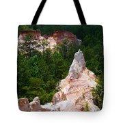 White Pinniacle Tote Bag