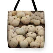 White Pumpkins Tote Bag