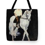 White Ride Tote Bag