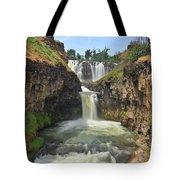 White River Falls B Tote Bag