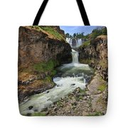 White River Falls C Tote Bag