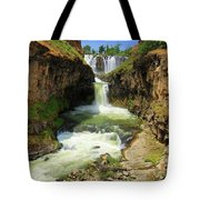 White River Falls D Tote Bag