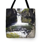 White River Falls Tote Bag