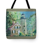 White River Light Tote Bag