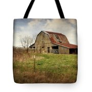 White River Trace Barn 2 Tote Bag