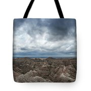 White River Valley Overlook Panorama 2  Tote Bag