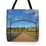 White Rock Pier In Bc Canada Tote Bag